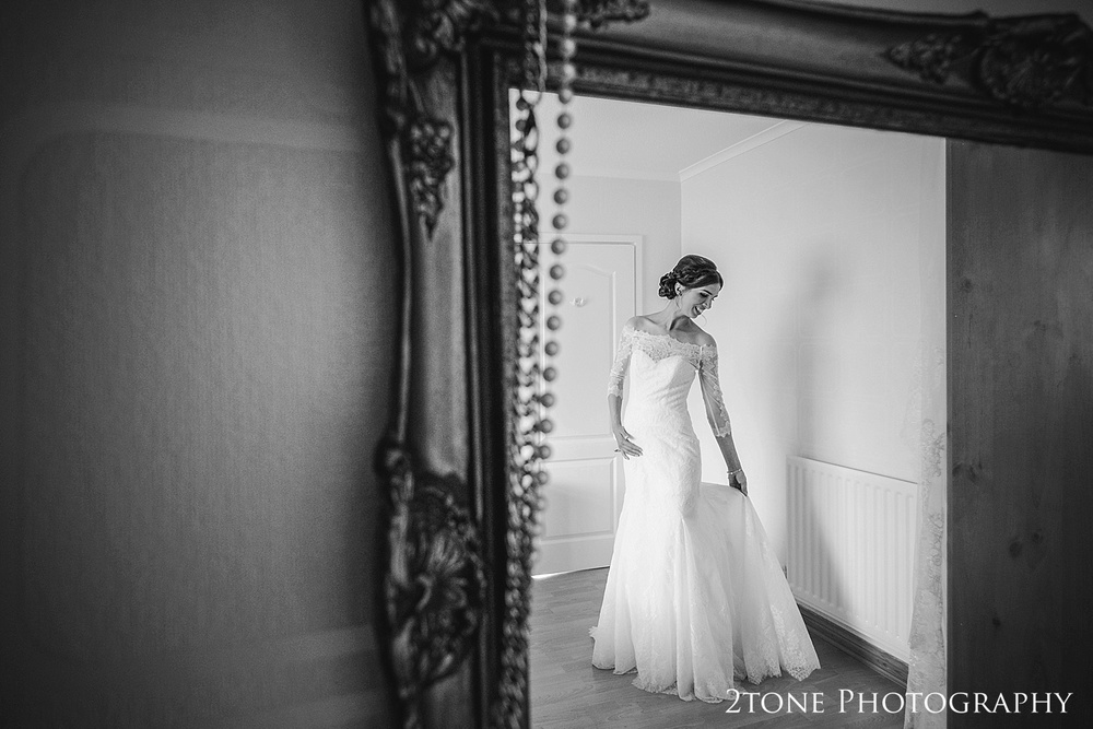 The bride by Durham based wedding photographers www.2tonephotography.co.uk