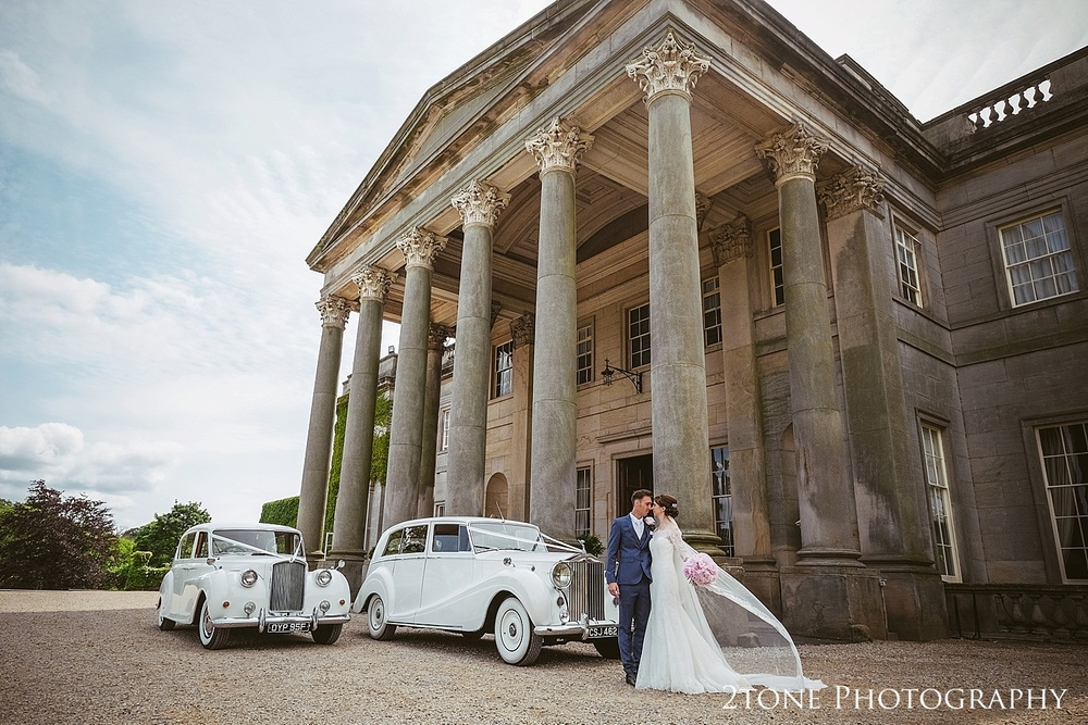 Wynyard Hall by Durham based wedding photographers www.2tonephotography.co.uk
