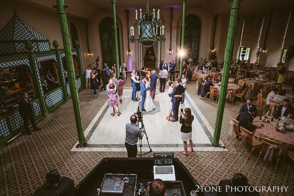 The conservatory at Wynyard Hall by Durham based wedding photographers www.2tonephotography.co.uk