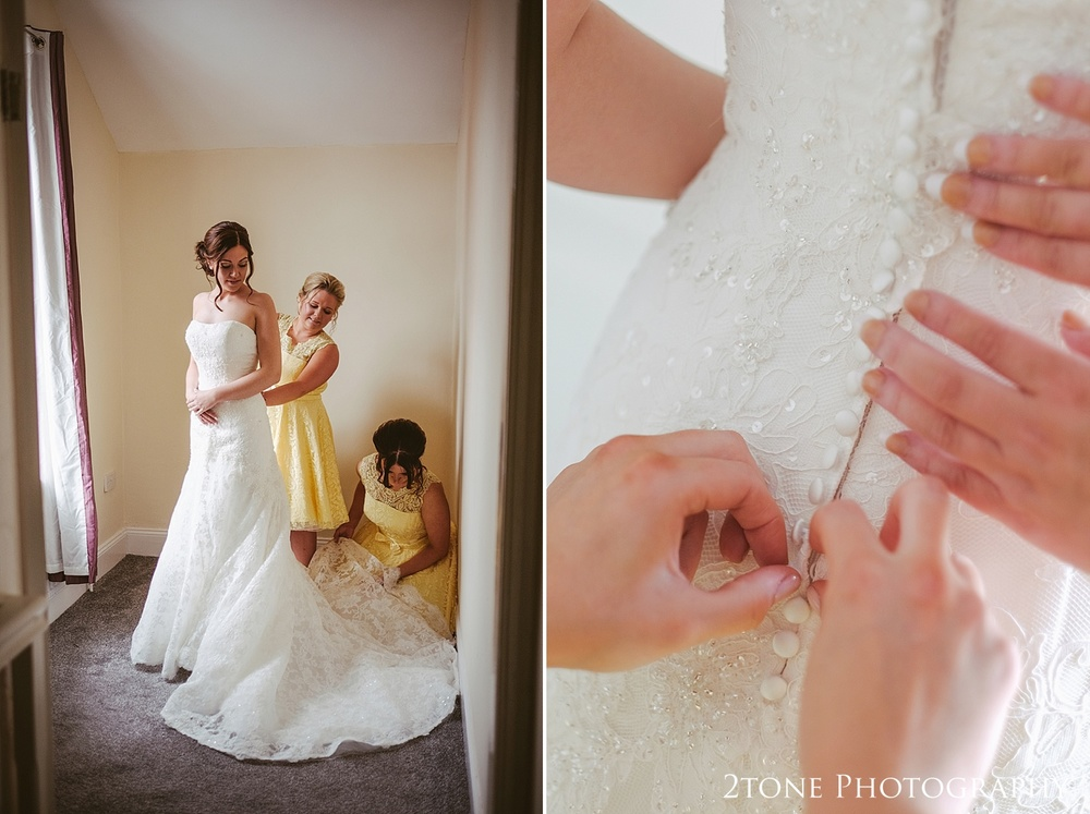 Bridal preparations by wedding photographers in Durham, www.2tonephotography.co.uk