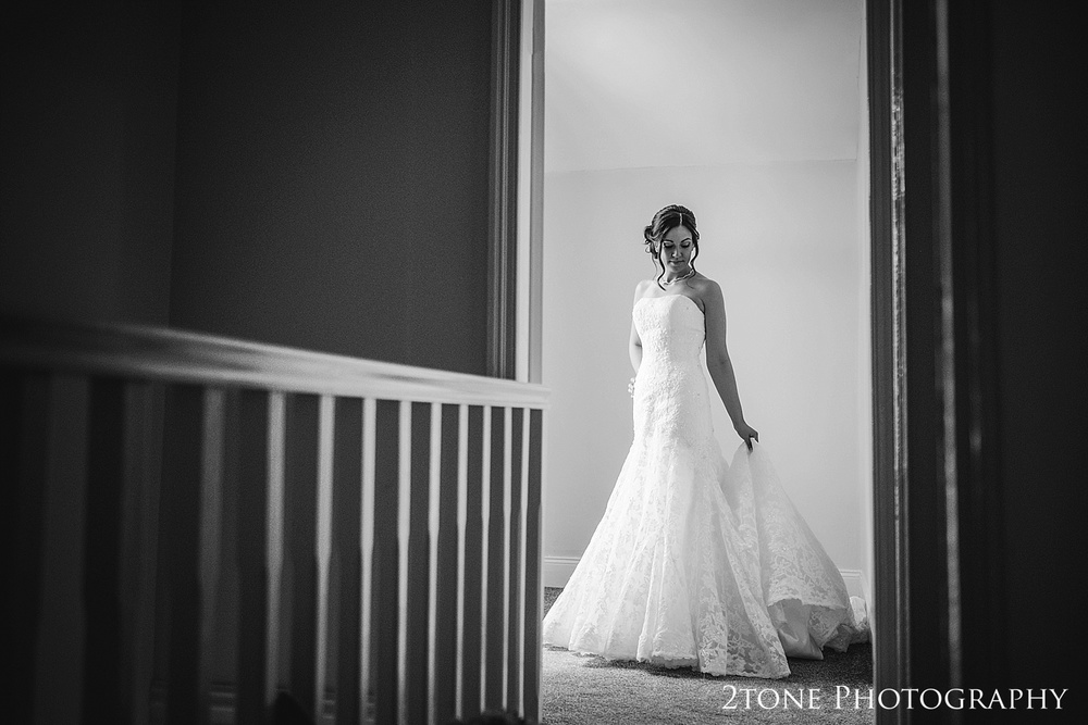 Bridal portraiture by wedding photographers in Durham, www.2tonephotography.co.uk