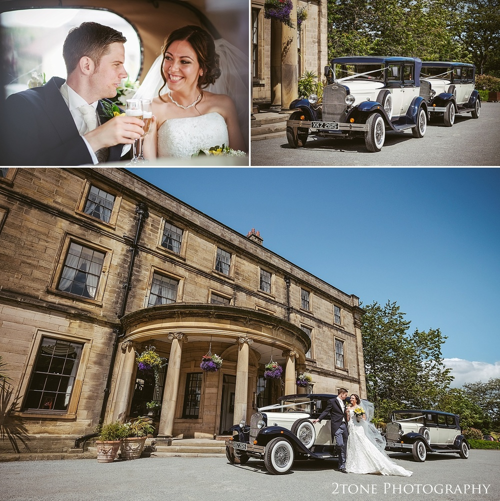Beamish Hall wedding photography by Wedding Photographers based in Durham, www.2tonephotography.co.uk