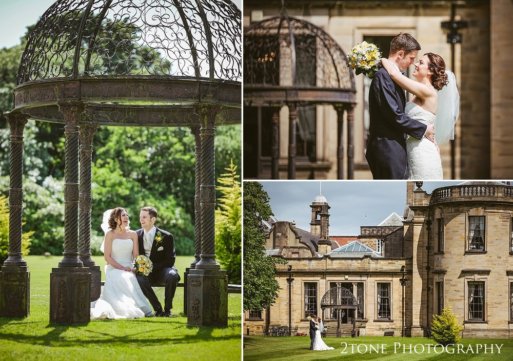 Weddings at Beamish Hall by Wedding Photographers based in Durham, www.2tonephotography.co.uk