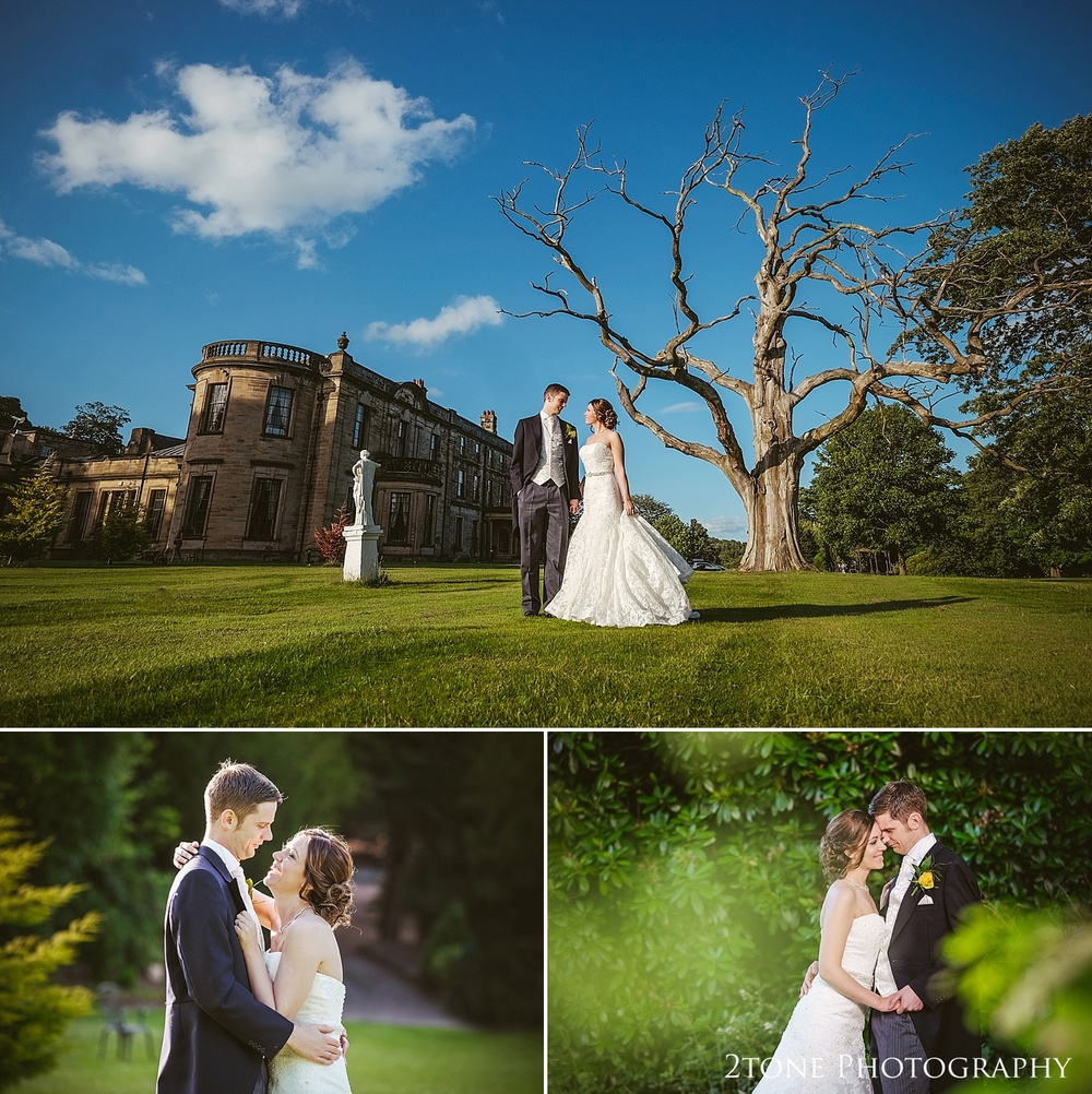 Wedding photography at Beamish Hall by Wedding Photographers based in Durham, www.2tonephotography.co.uk