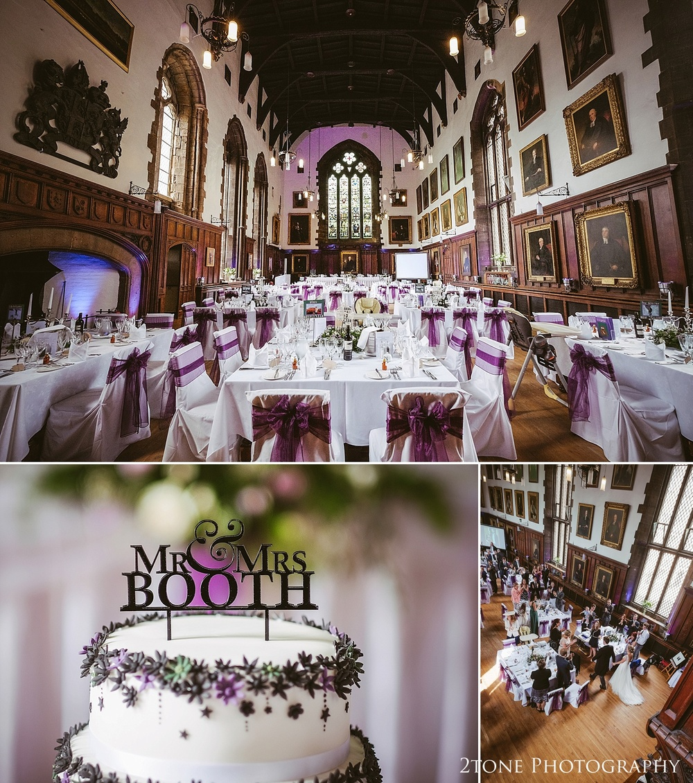 The Great hall in Durham Castle by husband and wife team 2tone Photography www.2tonephotography.co.uk