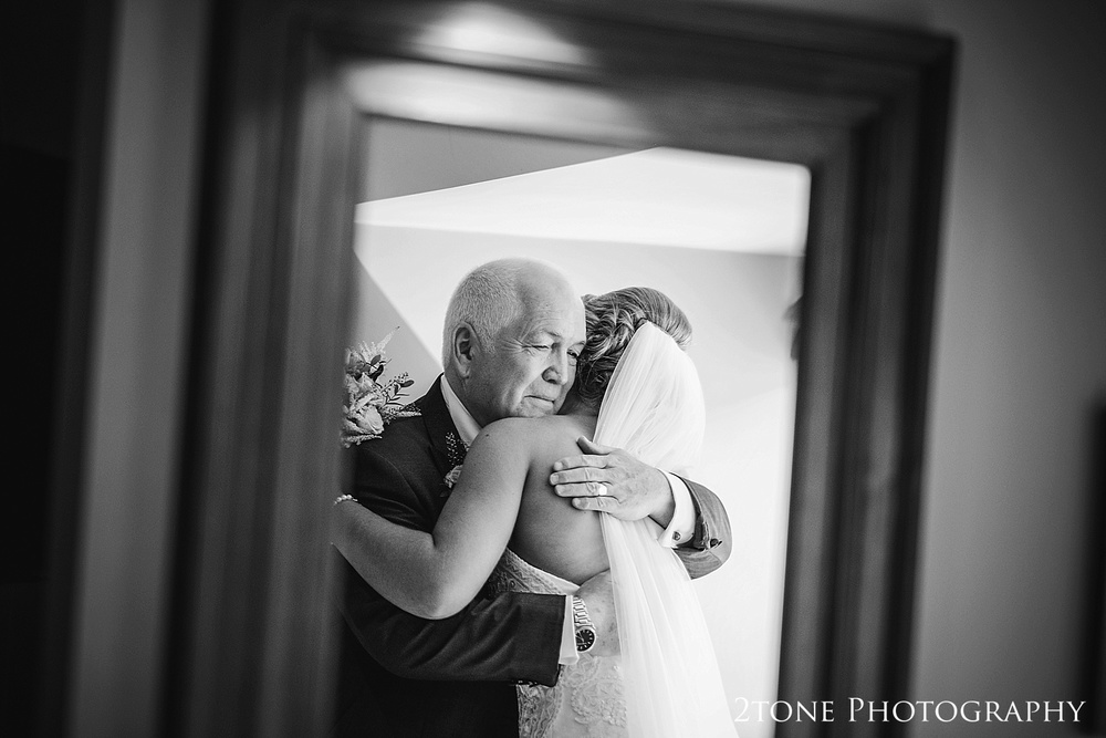 The father of the bride at Jesmond Dene House in Newcastle by 2tone Photography www.2tonephotography.co.uk