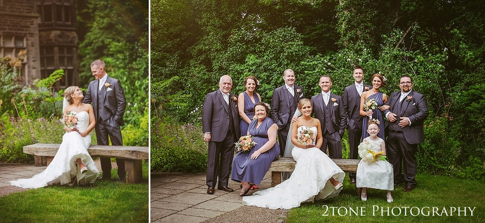 The bridal party at Jesmond Dene House in Newcastle by 2tone Photography www.2tonephotography.co.uk