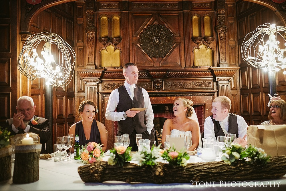 Grooms speech at Jesmond Dene House in Newcastle by 2tone Photography www.2tonephotography.co.uk
