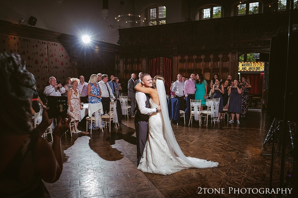 The first dance at Jesmond Dene House in Newcastle by 2tone Photography www.2tonephotography.co.uk