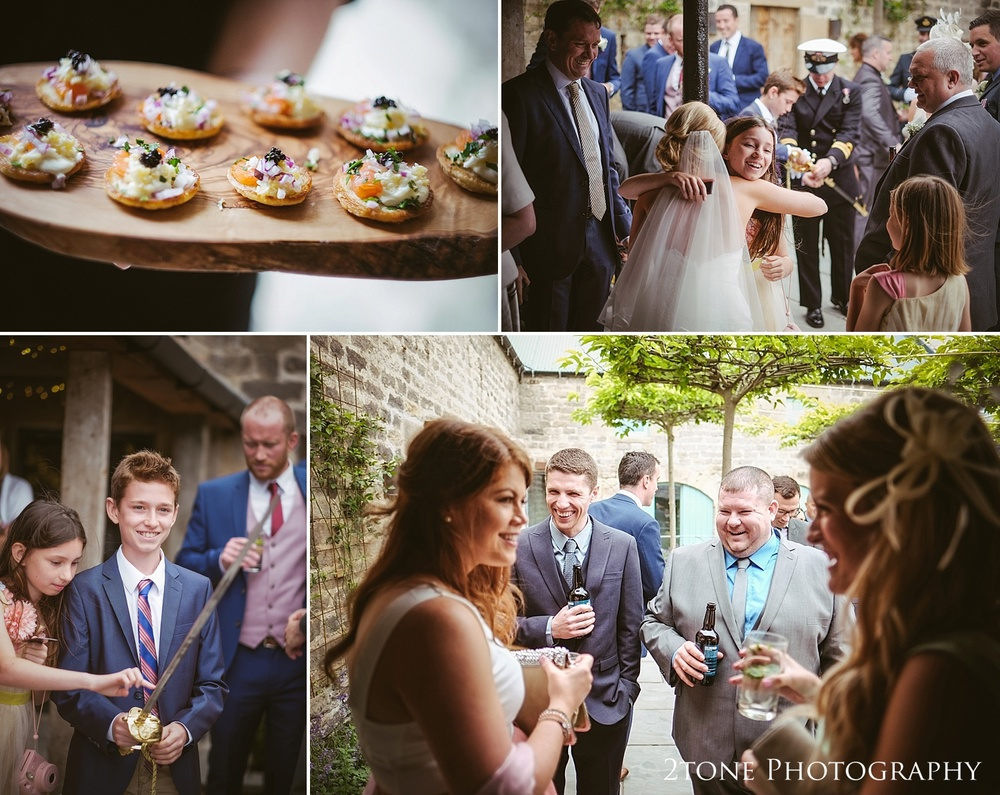 natural wedding photography at Healey Barn by wedding photography team, 2tone Photography www.2tonephotography.co.uk