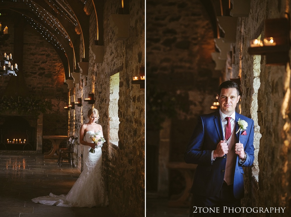 Bride and groom at Healey Barn by wedding photography team, 2tone Photography www.2tonephotography.co.uk