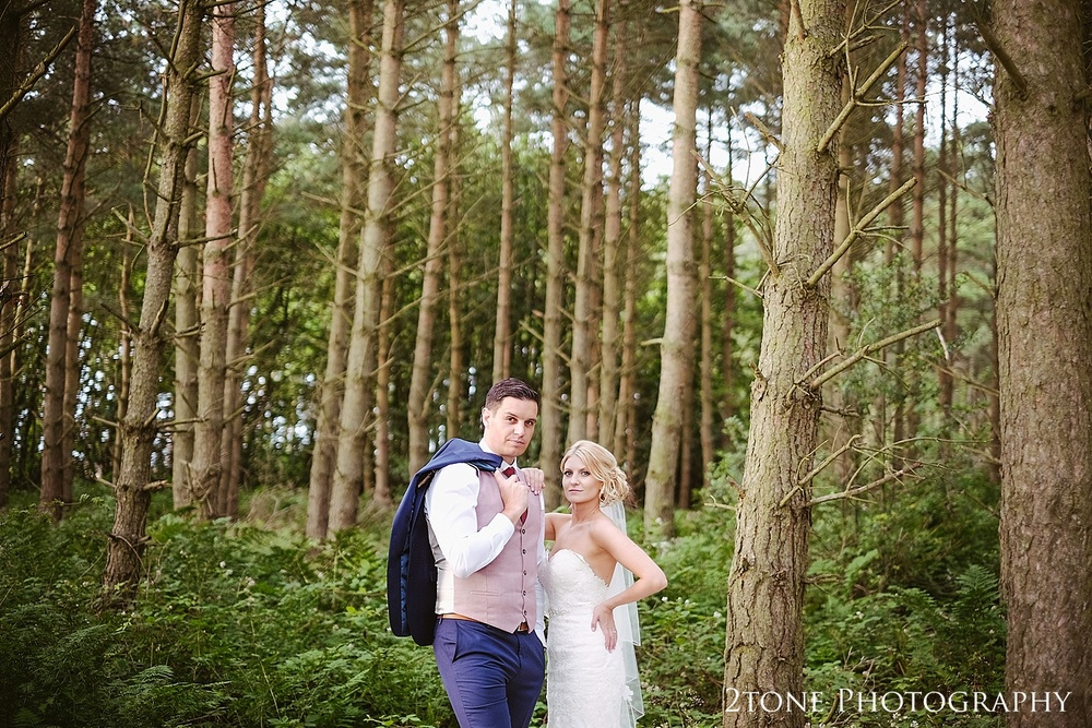 The woods at Healey Barn by wedding photography team, 2tone Photography www.2tonephotography.co.uk