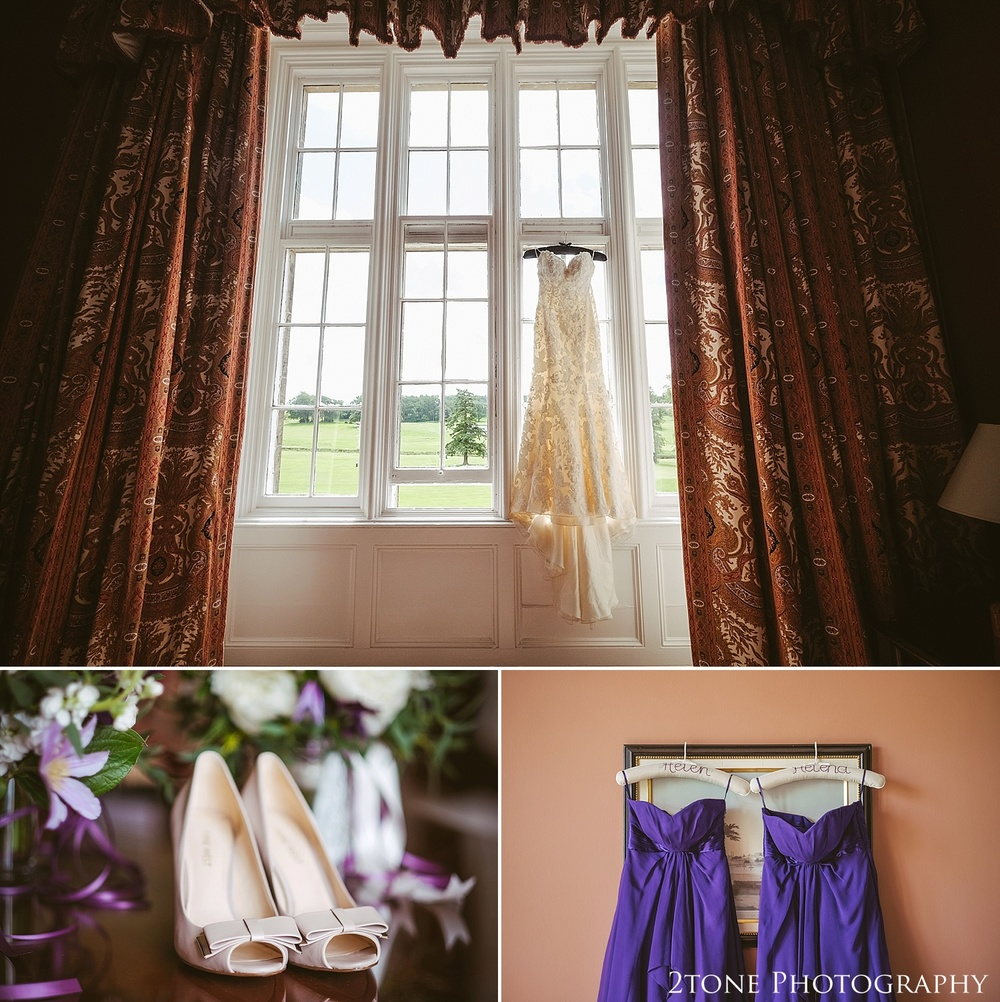 Wedding day details.  Wedding photography at Matfen Hall by wedding photographer www.2tonephotography.co.uk