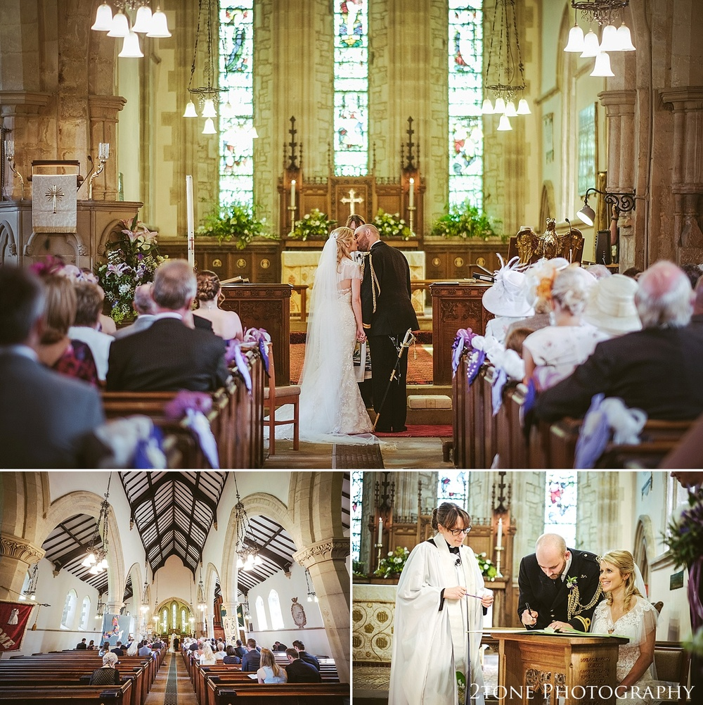 Stamfordham Church wedding.  Wedding photography at Matfen Hall by wedding photographer www.2tonephotography.co.uk