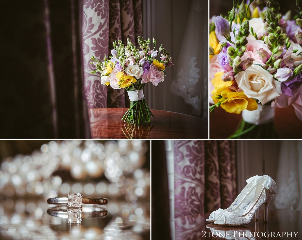 Wedding details.  Wedding photography at Wynyard Hall by husband and wife wedding photographers 2tone Photography www.2tonephotography.co.uk