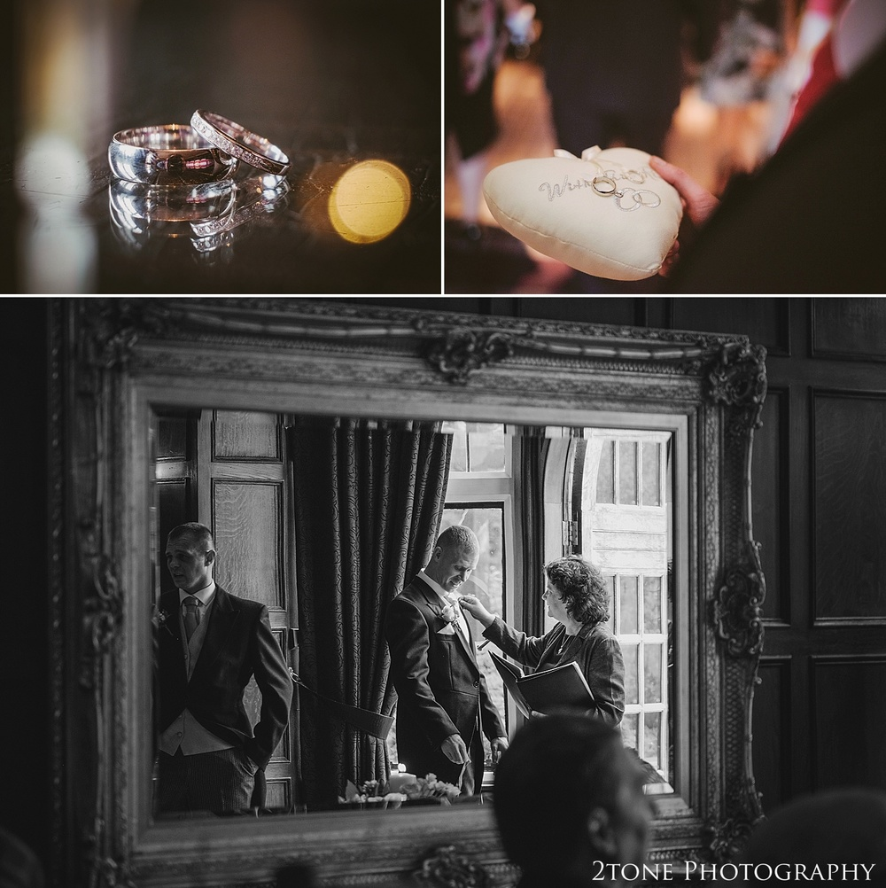 Natural wedding photos.  Slaley Hall wedding photography by wedding photographers 2tone Photography.  www.2tonephotography.co.uk