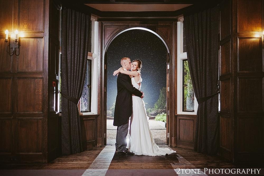 Creative wedding photography.  Slaley Hall wedding photography by wedding photographers 2tone Photography.  www.2tonephotography.co.uk