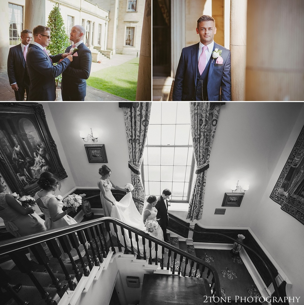 Weddings at Beamish Hall by durham based husband and wife wedding photography duo 2tone Photography www.2tonephotography.co.uk
