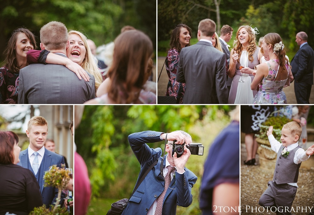 Natural wedding photography.  Matfen Hall by Durham based wedding photographers 2tone Photography www.2tonephotography.co.uk