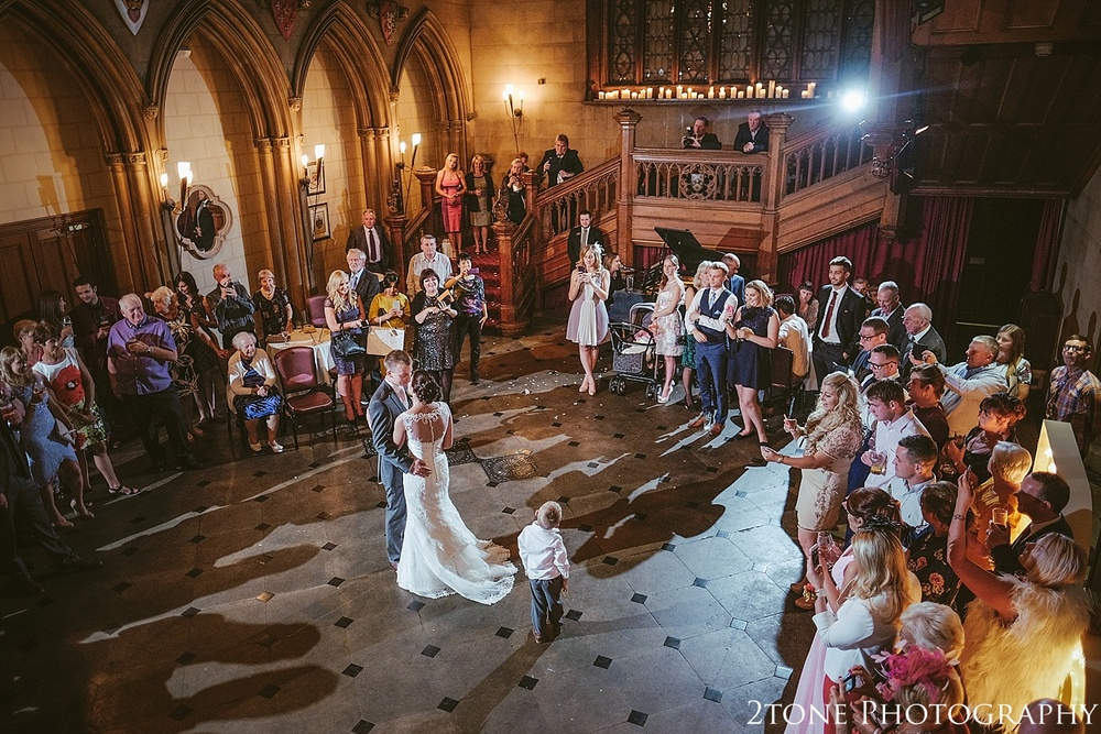 Matfen Hall first dance.  Matfen Hall by Durham based wedding photographers 2tone Photography www.2tonephotography.co.uk