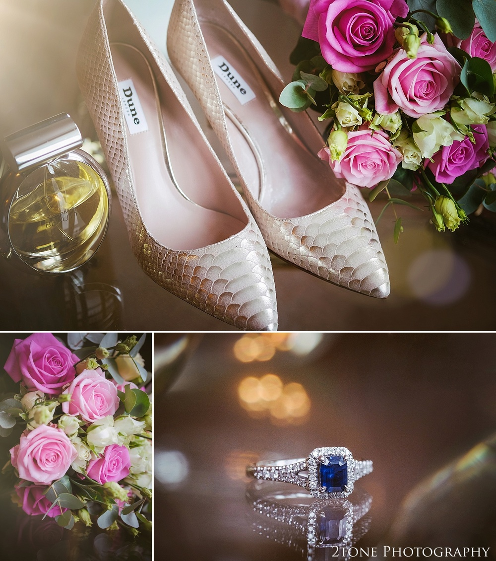 Wedding day details.  Wedding Photography at Horton Grange by wedding photographers in Durham www.2tonephotography.co.uk