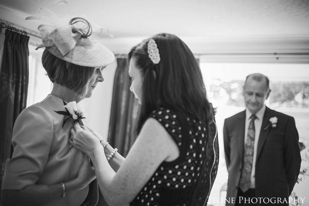 Getting ready.  Wedding Photography at Horton Grange by wedding photographers in Durham www.2tonephotography.co.uk