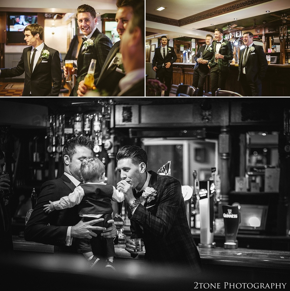 The groom getting ready.  Wedding photography at the Roker Hotel in Sunderland by www.2tonephotography.co.uk