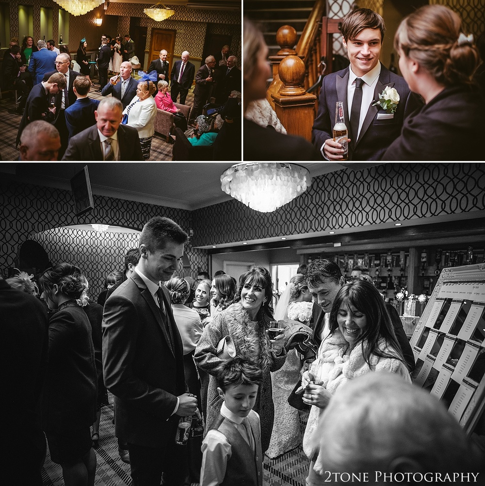 Natural wedding photography at the Roker Hotel in Sunderland by www.2tonephotography.co.uk