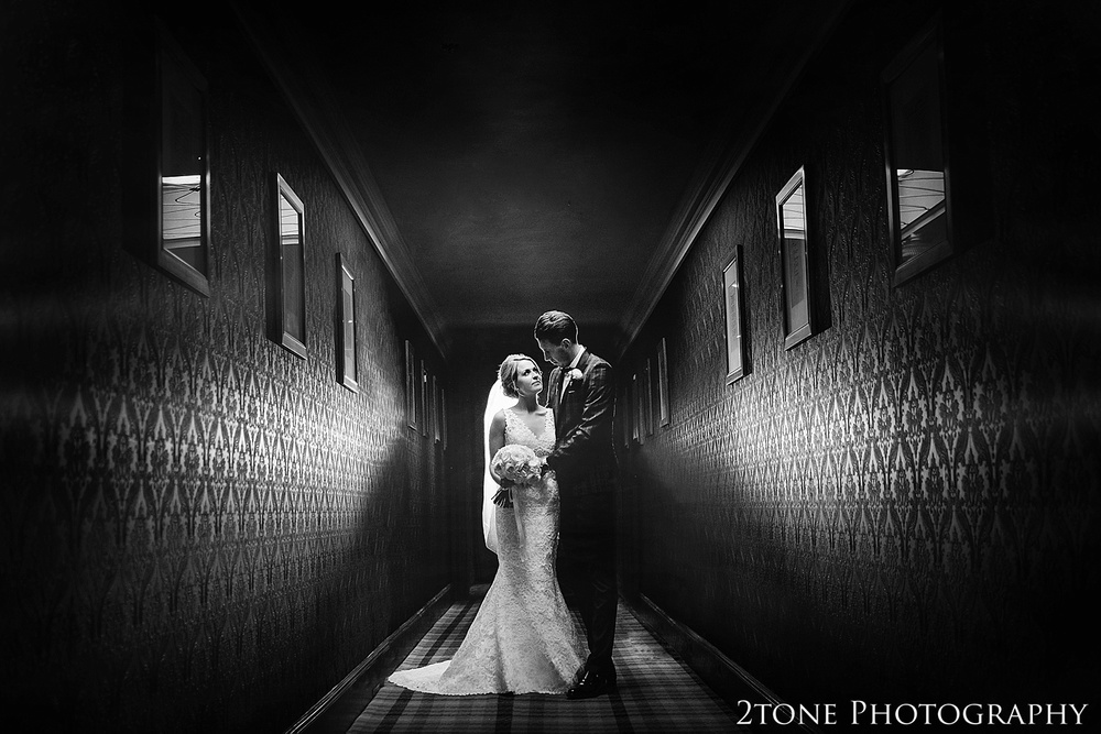 Creative wedding photography at the Roker Hotel in Sunderland by www.2tonephotography.co.uk
