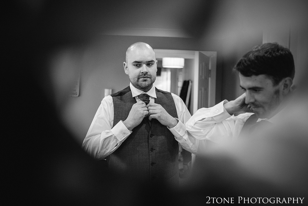 The groom.  Weddings at the Vermonth Hotel by wedding photographers 2tone Photography www.2tonephotography.co.uk