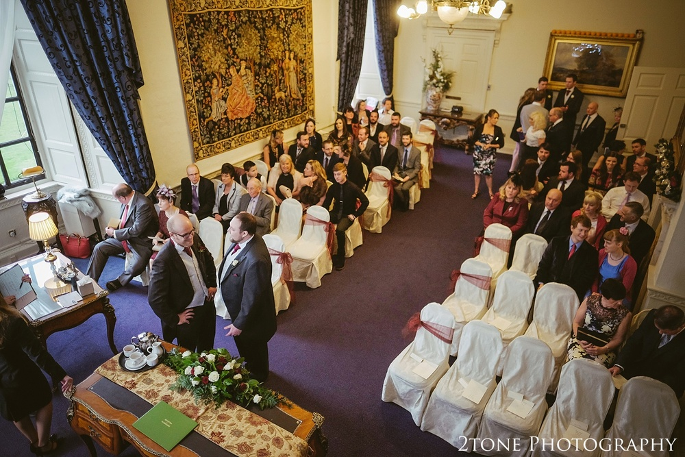 The Scarborough suite.  Wedding photography at Lumley Castle by Durham photographer 2tone photography www.2tonephotography.co.uk