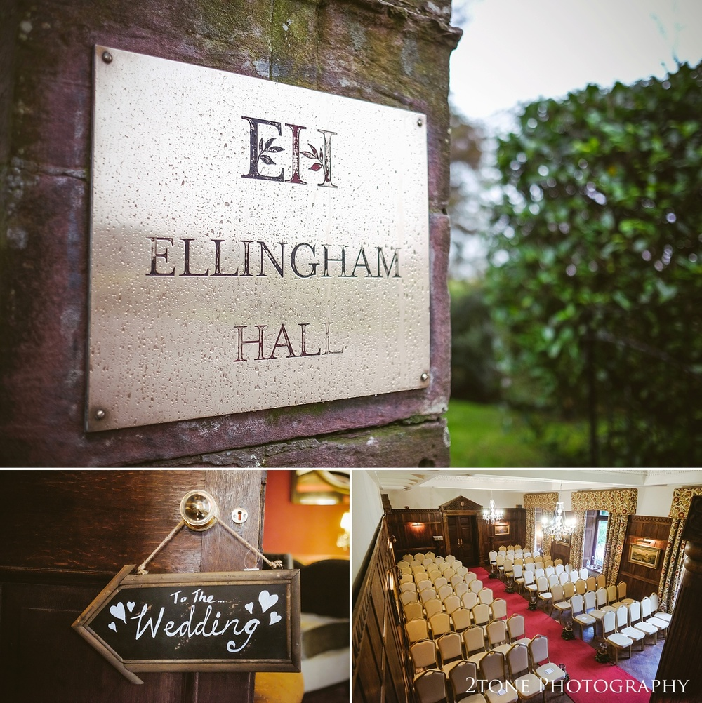 Ellingham Hall winter wedding photography by www.2tonephotography.co.uk