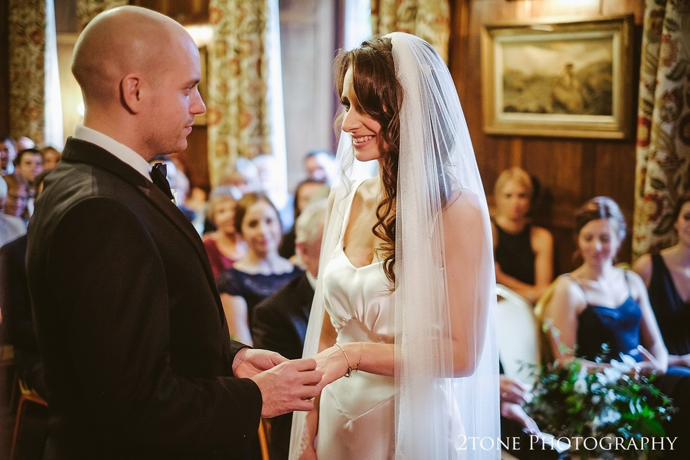 Natural wedding photography at Ellingham Hall. Winter wedding photography by www.2tonephotography.co.uk