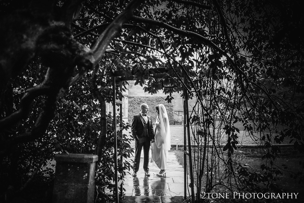 Creative wedding photographs at Ellingham Hall. Winter wedding photography by www.2tonephotography.co.uk