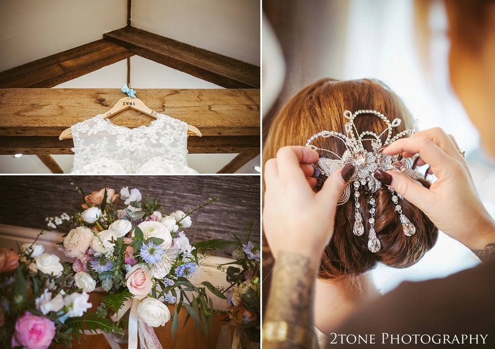 Wedding details at Woodhill Hall.  Wedding photography in Northumberland by www.2tonephotography.co.uk