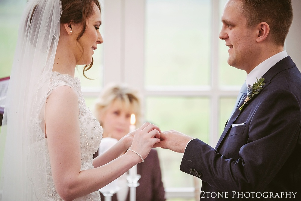 Natural wedding photography at Woodhill Hall.  Wedding photography in Northumberland by www.2tonephotography.co.uk