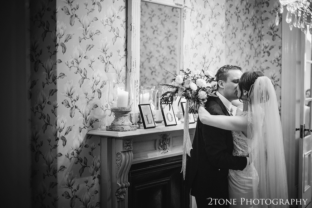 Natural wedding photos at Woodhill Hall.  Wedding photography in Northumberland by www.2tonephotography.co.uk