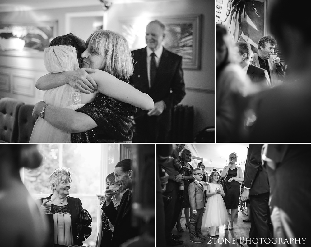 documentary wedding photography at Woodhill Hall.  Wedding photography in Northumberland by www.2tonephotography.co.uk