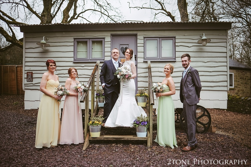 The love shack at Woodhill Hall.  Wedding photography in Northumberland by www.2tonephotography.co.uk