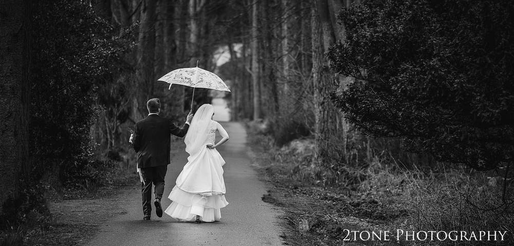 Woodland wedding photos at Woodhill Hall.  Wedding photography in Northumberland by www.2tonephotography.co.uk