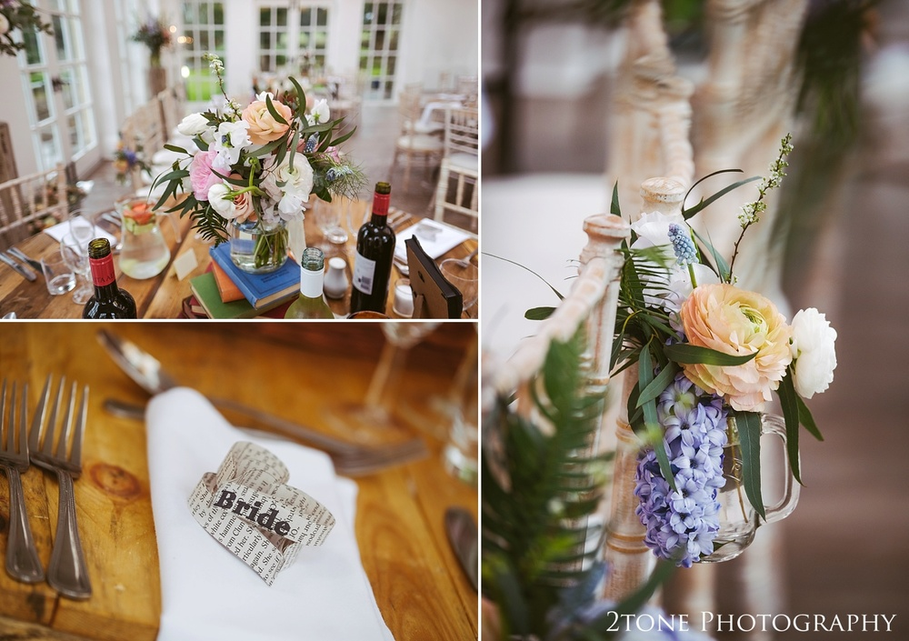 Book themed wedding at Woodhill Hall.  Wedding photography in Northumberland by www.2tonephotography.co.uk