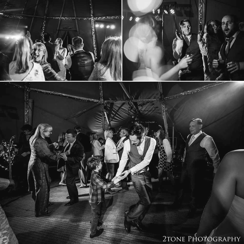 Wedding dancing at Woodhill Hall.  Wedding photography in Northumberland by www.2tonephotography.co.uk