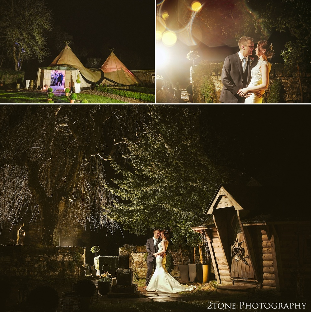 Creative wedding photography in the rain at Woodhill Hall.  Wedding photography in Northumberland by www.2tonephotography.co.uk
