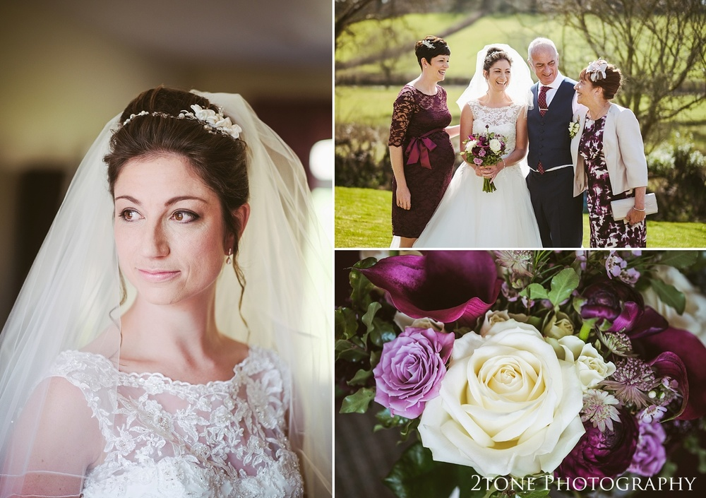 Bridal portraiture.  Wedding photography in Somerset by husband and wife team 2tone Photography ww.2tonephotography.co.uk