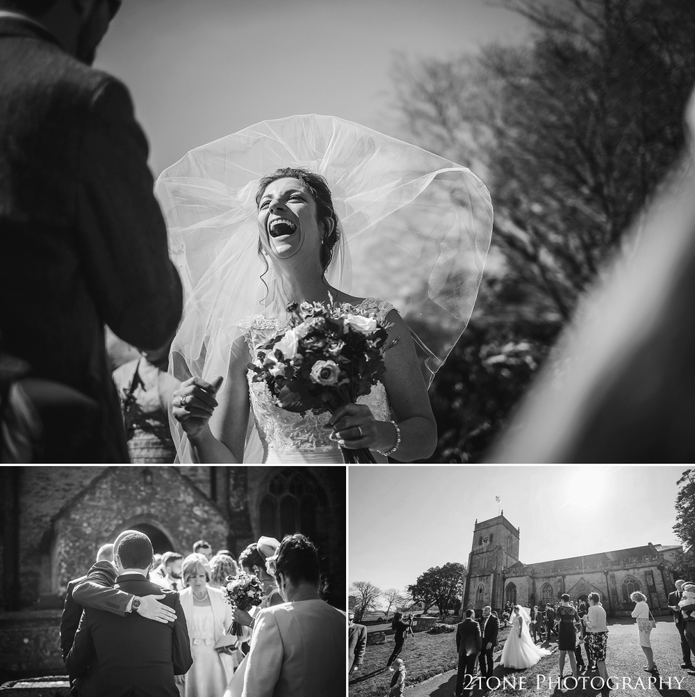 Documentary wedding photography in Somerset by www.2tonephotography.co.uk