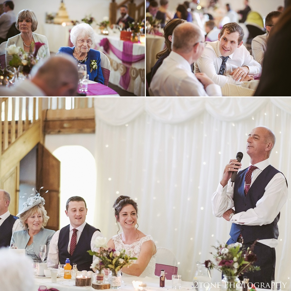 Father of the Bride speech at Haselbury Mill and the Old Tythe Barn in Somerset by www.2tonephotography.co.uk