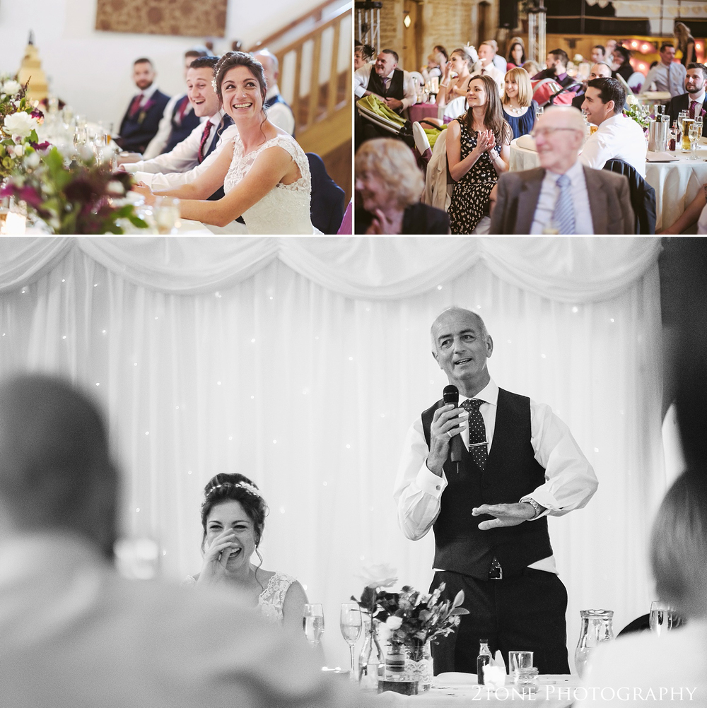 Father of the Bride wedding speech at Haselbury Mill and the Old Tythe Barn in Somerset by www.2tonephotography.co.uk