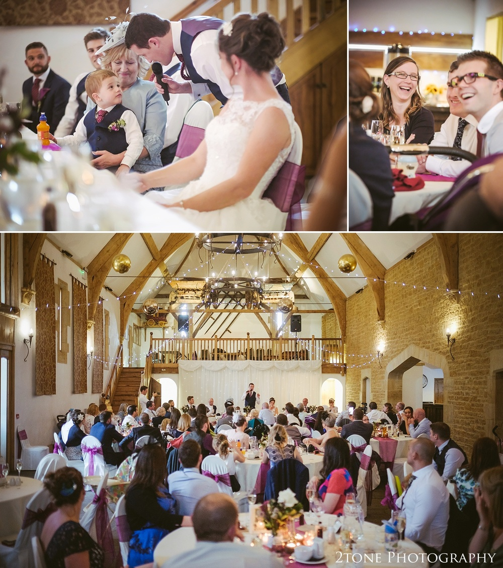 Groom's wedding speech at Haselbury Mill and the Old Tythe Barn in Somerset by www.2tonephotography.co.uk