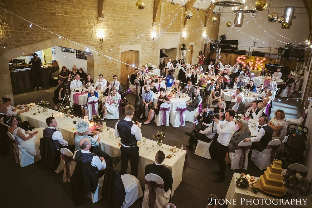 The wedding speeches at Haselbury Mill and the Old Tythe Barn in Somerset by www.2tonephotography.co.uk