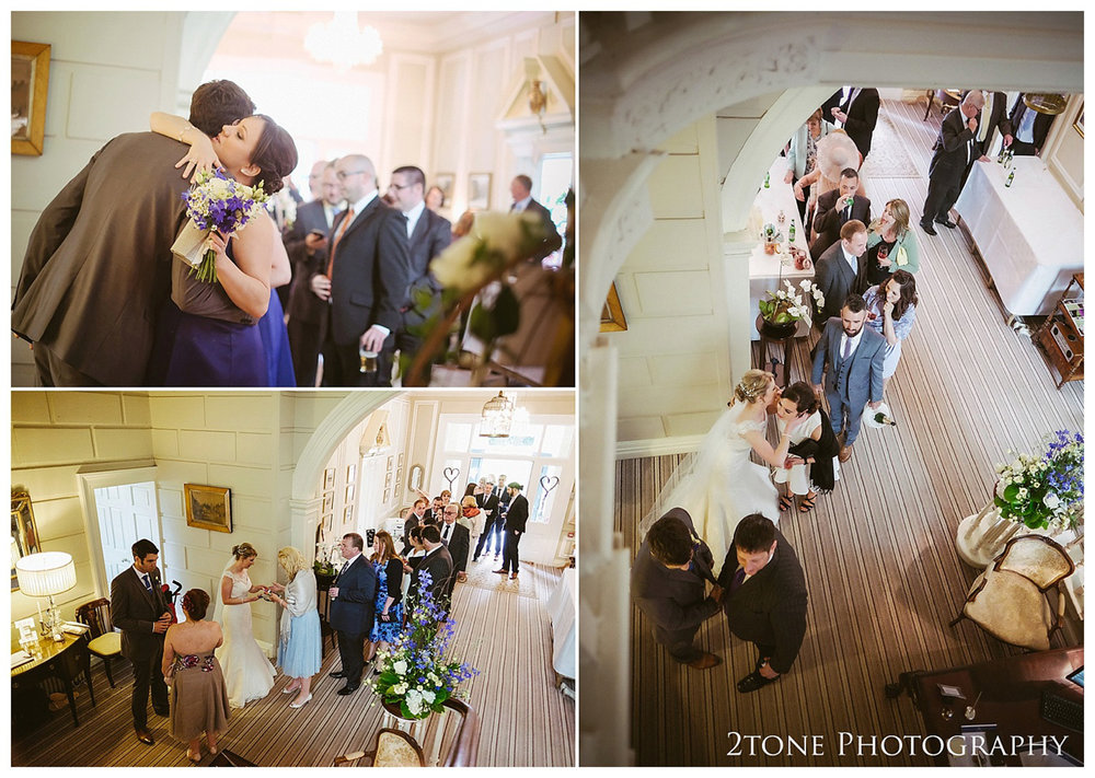 Eshott Hall wedding photographs by wedding photographers based in Durham and the North East.  www.2tonephotography.co.uk.